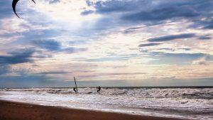 Kitesurflessen op Texel