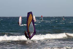 Windsurflessen op Texel